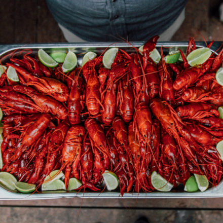 Traditional Swedish Crayfish Party